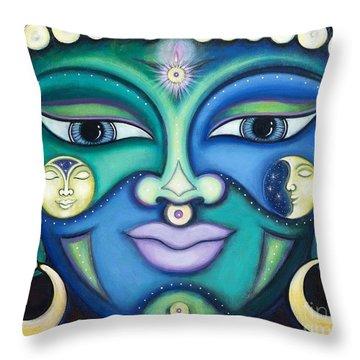 Creator Spirit Throw Pillow