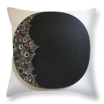 Crescent Moon Throw Pillow by Douglas Fromm