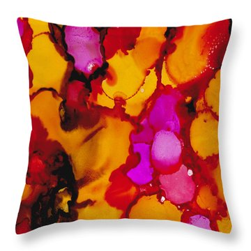 Creme Brulee Throw Pillow