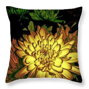 Creme De La Creme Throw Pillow