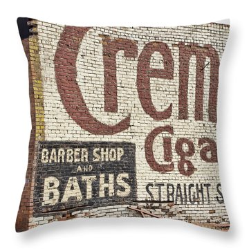 Cremo Cigar Throw Pillow