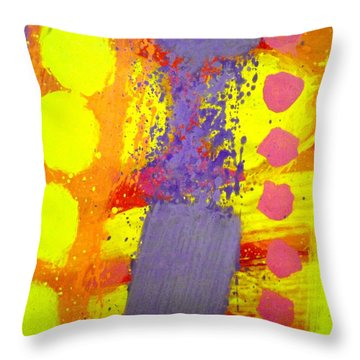 Crepuscule Throw Pillow by John  Nolan