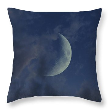Crescent Moon Throw Pillow