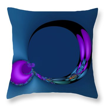 Crescent Moons Throw Pillow