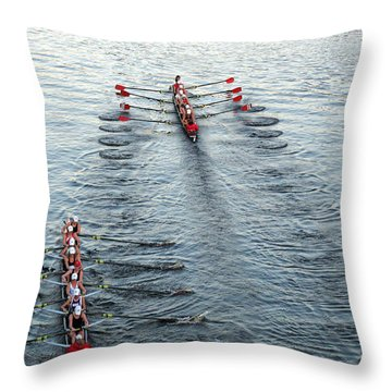 Crew Boston Prep Throw Pillow