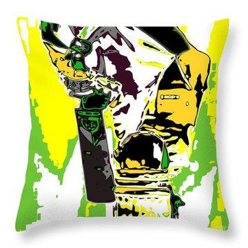 Cricketer Throw Pillow