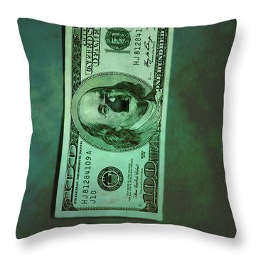Crime Throw Pillow