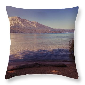 Crisp And Clear Throw Pillow