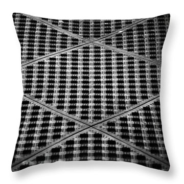 Criss Cross Throw Pillow
