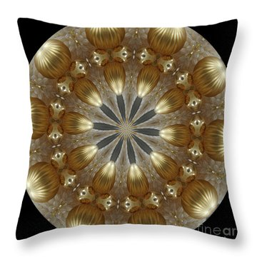 Cristmas Decor Throw Pillow by Lena Photo Art