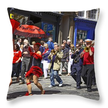 Criterion New Orleans Parade Band Throw Pillow