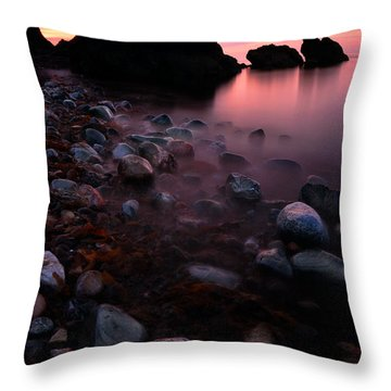 Cromarty Sunrise Throw Pillow
