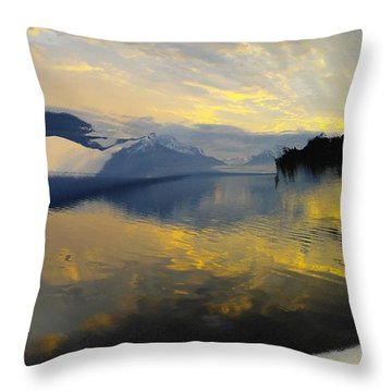Crooked Frame Throw Pillow by Jeff Swan
