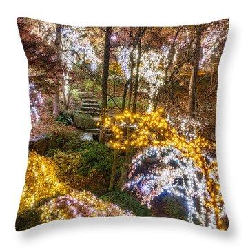 Golden Valley - Crop Throw Pillow