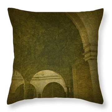Crosby Mansion Throw Pillow