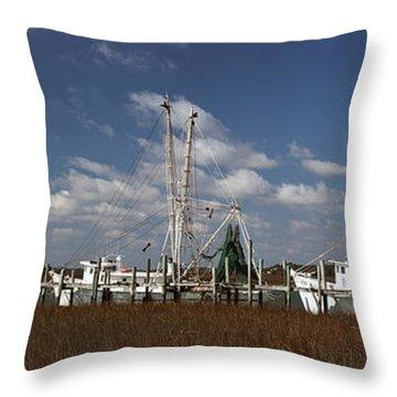 Crosby's Fleet Throw Pillow