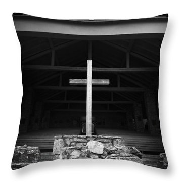 Cross 2 Throw Pillow