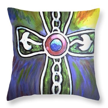 Cross 2015 Throw Pillow