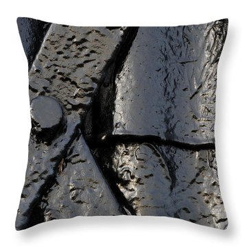 Cross Over Throw Pillow by Wendy Wilton
