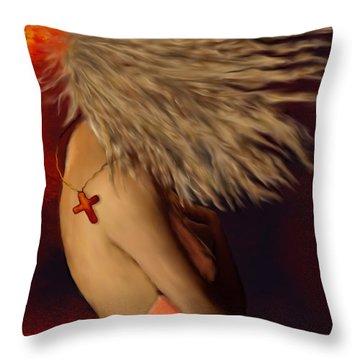 Cross The Breeze Throw Pillow