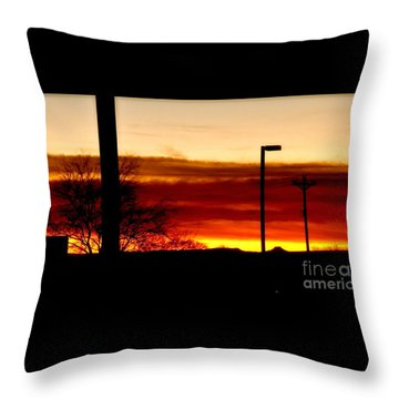 Cross The Skies Throw Pillow