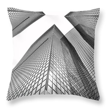 Crossed Throw Pillow