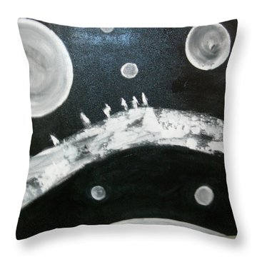 Crossing To Forever Throw Pillow