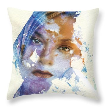 Crossroad Throw Pillow