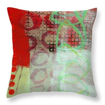 Crossroads 30 Throw Pillow by Jane Davies