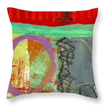 Crossroads 32 Throw Pillow by Jane Davies