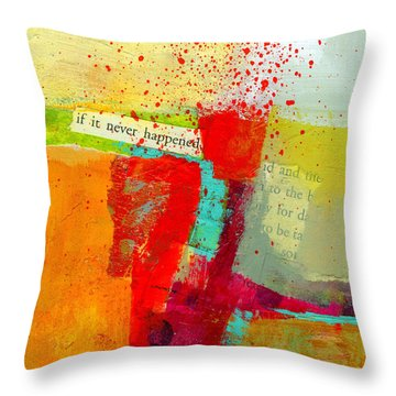 Crossroads 58 Throw Pillow by Jane Davies