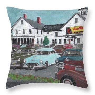 Crosti's Grove Throw Pillow