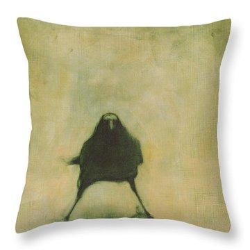 Crow 6 Throw Pillow