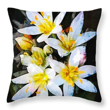 Crow Poison No. 2 Throw Pillow