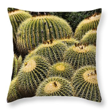Crowded Throw Pillow by Kelley King