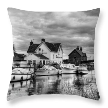 Crown And Anchor Throw Pillow