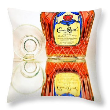 Crown Royal 3 Throw Pillow