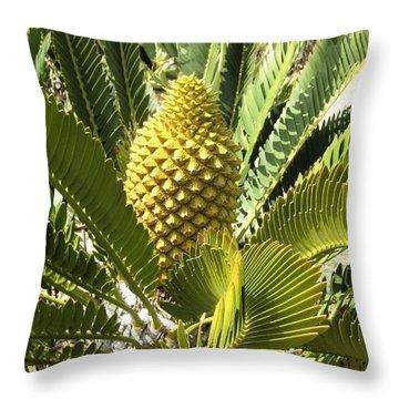 Crowning Glory Throw Pillow