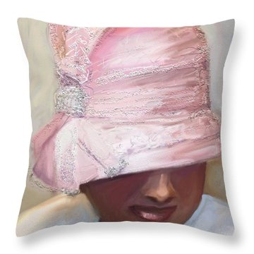 Crowns Throw Pillow by Vannetta Ferguson