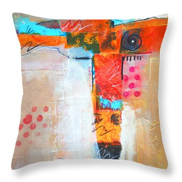 Cruciform 3 Throw Pillow