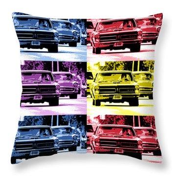 Cruise Pop 1 Throw Pillow by Gordon Dean II