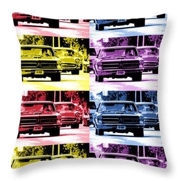 Cruise Pop 4 Throw Pillow by Gordon Dean II