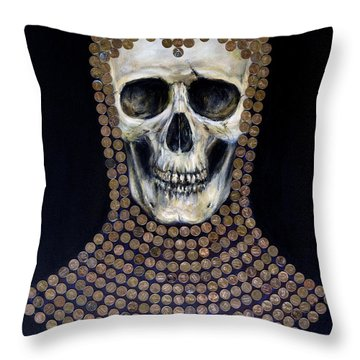 Crusader Throw Pillow by Arturas Slapsys