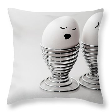 Crush Throw Pillow by Sabine Jacobs