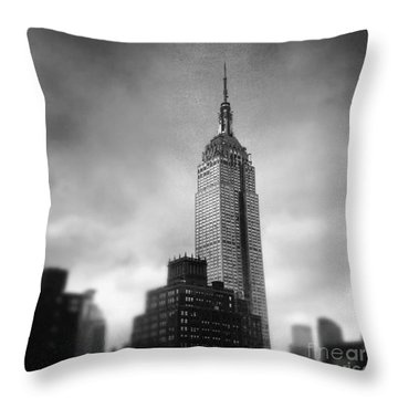 Crushed Twice Throw Pillow