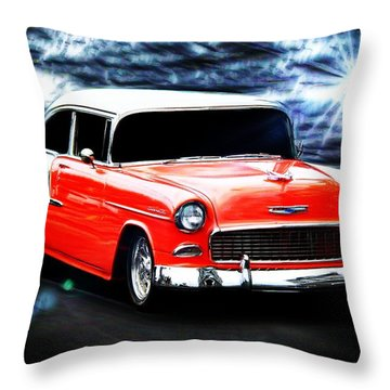 Old Car Throw Pillow featuring the photograph Cruze'n  by Aaron Berg
