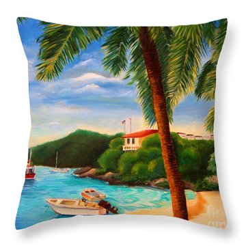 Cruzin' In The Bay Throw Pillow