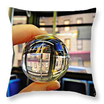 Crystal Ball Project 64 Throw Pillow