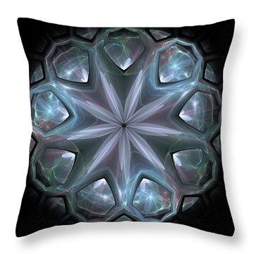 Throw Pillow featuring the digital art Crystal Ball by Svetlana Nikolova