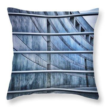 Greytones Throw Pillow